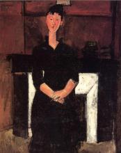 Modigliani, Donna seduta davanti a un caminetto.png