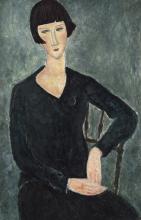 Modigliani, Donna seduta in abito blu.png