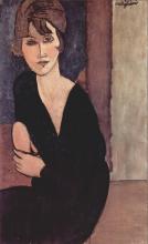 Modigliani, Donna seduta, Madame Reynouard?.png