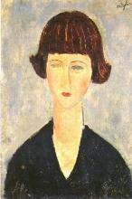 Modigliani, Giovane donna bruna.jpg