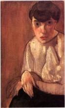 Modigliani, Giovane seduta (Signora Cadorin).jpg