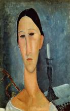 Modigliani, Hanka Zborowska con candeliere.png