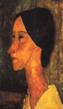 Modigliani, Hanka Zborowska di profilo.png