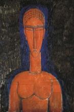 Modigliani, Il busto rosso.jpg