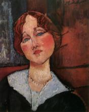 Modigliani, Il fagiolo rosso.png
