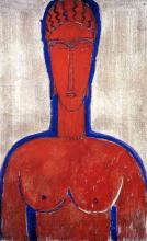 Modigliani, Il grande busto rosso.jpg