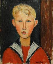 Modigliani, Il ragazzo dagli occhi azzurri.png