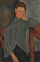 Modigliani, Il ragazzo.jpg