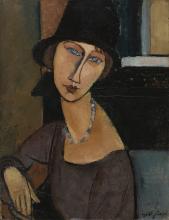 Modigliani, Jeanne Hebuterne (con cappello) [1].png