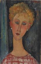 Modigliani, La bionda con gli orecchini.jpg