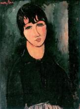 Amedeo Modigliani, La cameriera   La petite servante   Das Dienstmädchen