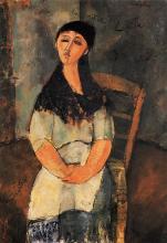Modigliani, La piccola Louise.png