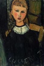 Modigliani, La piccola Lucienne.png