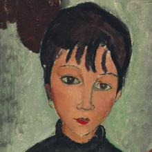 Modigliani, Le due bambine [dettaglio 1].png