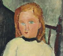 Modigliani, Le due bambine [dettaglio 2].png