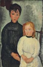Modigliani, Le due bambine.jpg