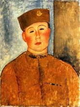 Modigliani, Lo zuavo.png