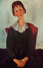 Modigliani, Mademoiselle Huguette.jpg
