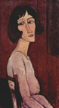 Modigliani, Margherita seduta in fianco.jpg