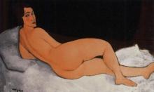 Modigliani, Nudo sdraiato (sul fianco sinistro).jpg