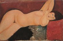 Amedeo Modigliani, Nudo sdraiato