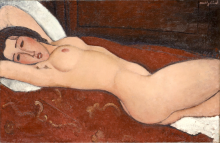 Modigliani, Nudo sdraiato [3].png