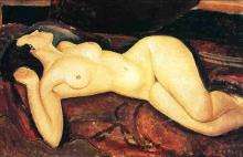 Modigliani, Nudo sdraiato [4].png