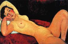 Modigliani, Nudo sdraiato, la sognatrice.png