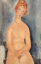 Modigliani, Nudo seduto con le mani incrociate.png
