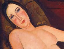 Modigliani, Nudo su un divano [dettaglio 2].png