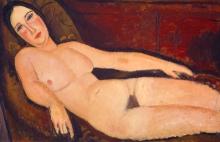 Modigliani, Nudo su un divano.jpg