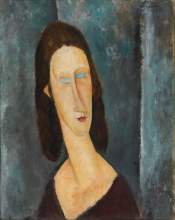 Modigliani, Occhi azzurri | Blue eyes