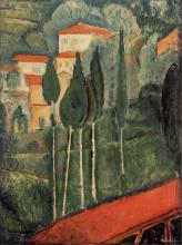 Modigliani, Paesaggio del Midi.png