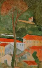 Modigliani, Paesaggio di Cagnes.png