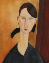 Modigliani, Paulette Jourdain [dettaglio].jpg