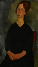 Amedeo Modigliani, Piccola cameriera | Little servant girl