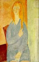 Modigliani, Ragazza bionda in azzurro.jpg