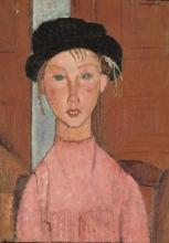 Modigliani, Ragazza con berretto.jpg