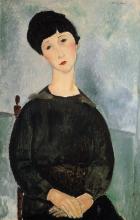 Modigliani, Ragazza dai capelli castani seduta.png