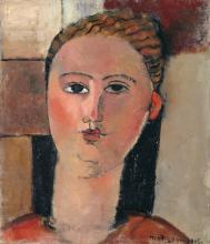 Modigliani, Ragazza dai capelli rossi.png