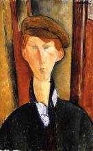 Modigliani, Ragazzo con berretto.jpg
