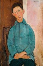 Modigliani, Ragazzo in giacca azzurra.png