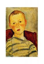 Modigliani, Ragazzo in maglia a righe.png
