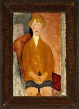 Modigliani, Ragazzo in pantaloni corti [cornice].png