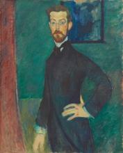 Modigliani, Ritratto del dr. Paul Alexandre [1909].jpg