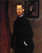 Modigliani, Ritratto del dr. Paul Alexandre.jpg