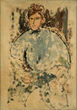 Modigliani, Ritratto del pittore Baranowski.png