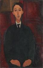 Modigliani, Ritratto del pittore Manuel Humbert.jpg
