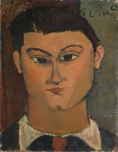 Amedeo Modigliani, Ritratto del pittore Moïse Kisling