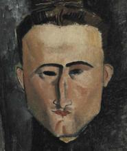 Modigliani, Ritratto del pittore Rouveyre [dettaglio].png